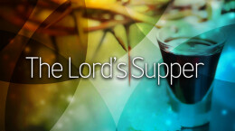 The Lord's Supper 09/01/19